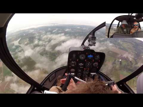 Helicopter Instrument Training - KMMV ILS Approach 3-26-16