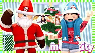 New Santa Neighbor in Town! - Roblox MeepCity Christmas Update - DOLLASTIC PLAYS!