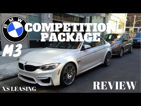 2018 BMW M3 WITH COMPETITION PACKAGE REVIEW