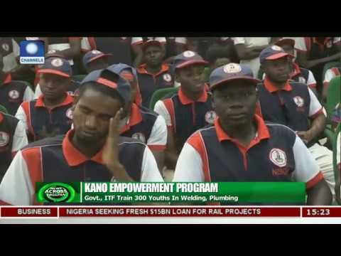 Kano Govt, ITF Train 300 Youths In Welding,Plumbing |News Across Nigeria|