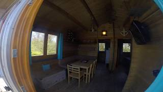 Comfort trekkershut op camping Stavenisse
