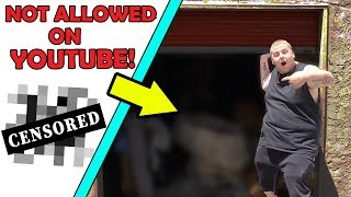 MOST DISTURBING Storage Unit On YouTube! I Bought An Abandoned Storage Unit And Made No Money!