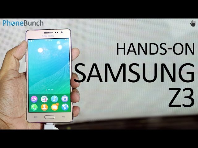 Samsung Z3 Price In India And Specs