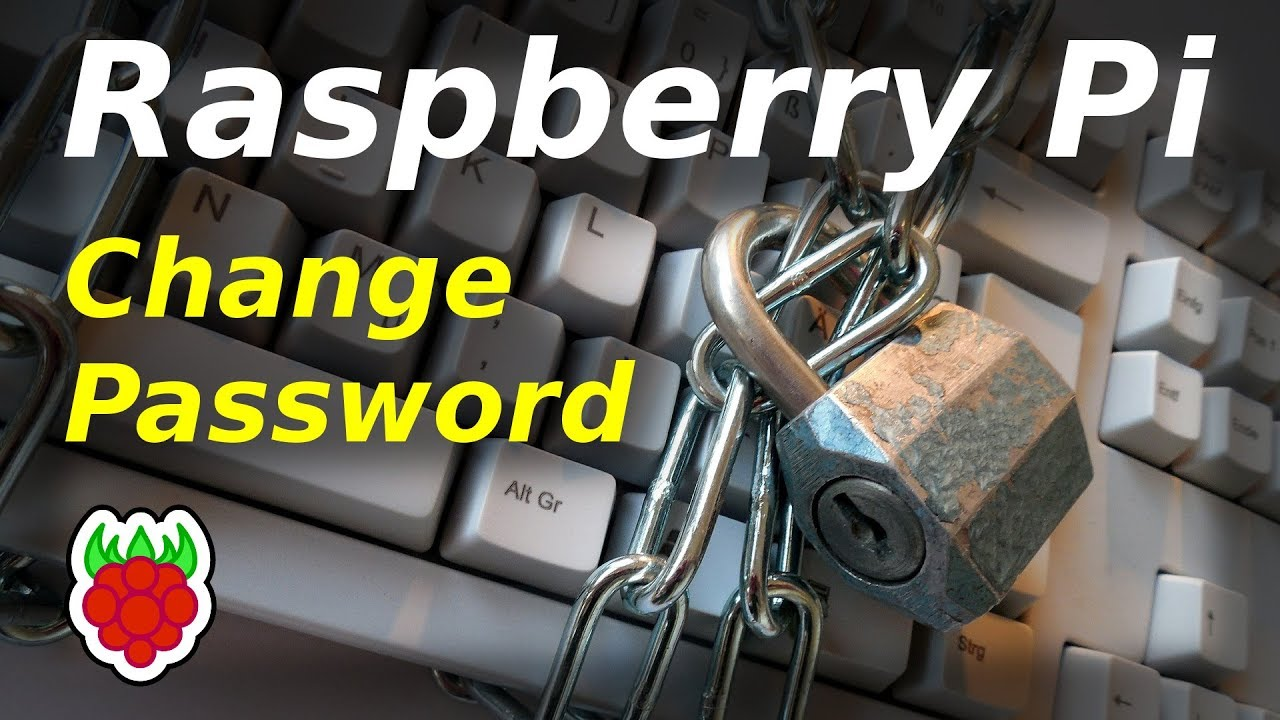 How to Change the Raspberry Pi Password - Raspberry Pi Spy