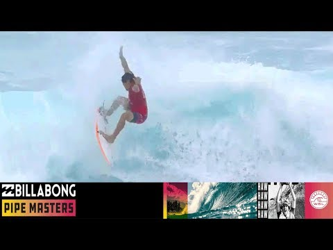 Wilson vs. Hermes vs. Moniz - Round One, Heat 5 - Billabong Pipe Masters 2018