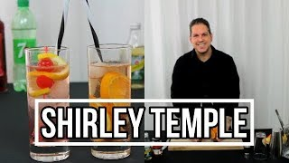 Shirley Temple Cocktail, 2 Shirley Temple Rezepte, alkoholfreier Cocktail mit Ginger Ale