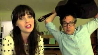 """Videochat Karaoke - Zooey Deschanel + M.Ward - """"Stars Fell On Alabama"""""""