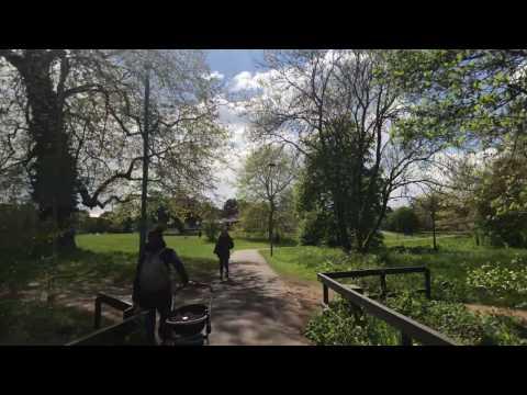 A walk around The University of Reading