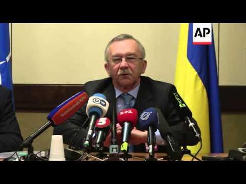 Ukrainian ambassador to NATO comments, Hague and  Afghan spokesman