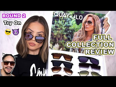 QUAY X JLO ROUND 2 SUNGLASSES FULL COLLECTION REVIEW | Maryam Maquillage