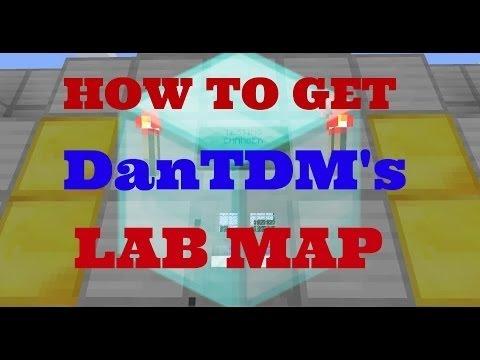 How to get DanTDM's lab in Minecraft PE!