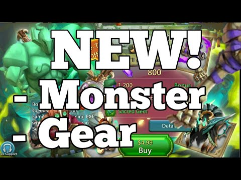Lords-Mobile | NEW GEAR/MONSTER (Voodoo Shaman)