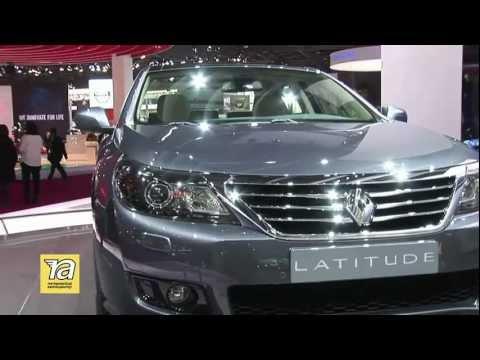 Знакомство с  Renault Latitude