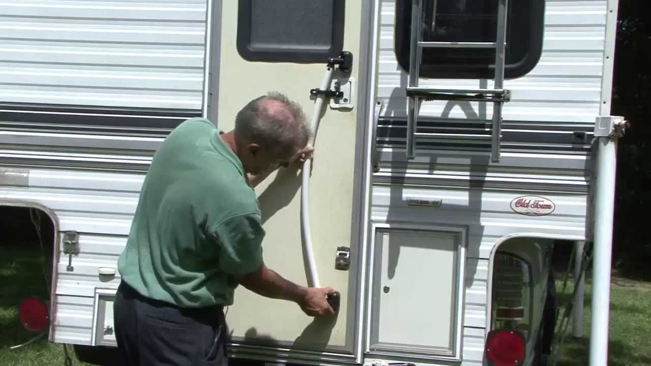 RV 101® - EZ Open RV Door Handle - YouTube