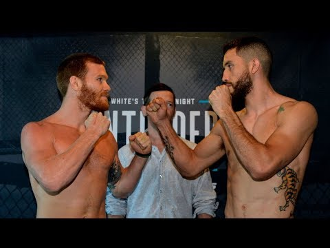Download Week 8 Weigh-in Faceoffs - Dana White's Tuesday Night Contender Series