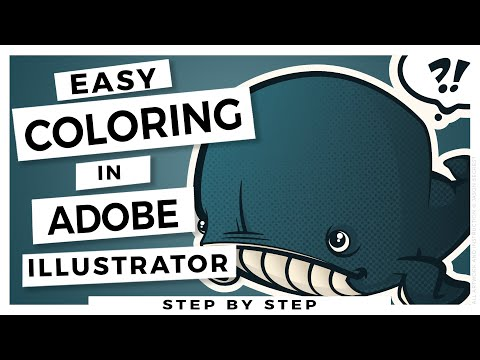 Adobe Illustrator CC Tutorial for Beginners: Whale Color