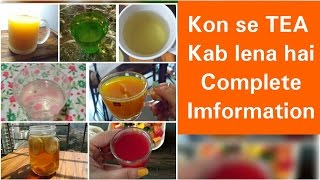My Best Slimming Tea for Weight loss, Yellow Tea, Orange Tea, Green Tea, Best Weight loss Tea Detox