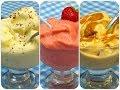 Helados de fruta natural | Aprende a preparar tres tipos de helados de fruta!