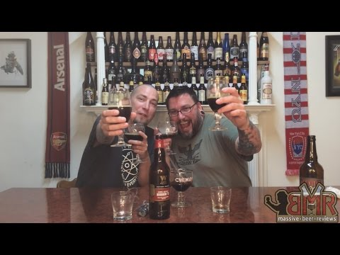 Massive Beer Reviews # 37 1997 Sam Adams Tripel Bock Blendin