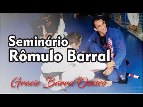 Seminário Rômulo Barral na Gracie Barra Osasco - Jiu Jitsu - BJJCLUB