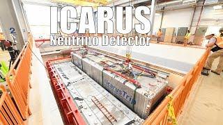 ICARUS Neutrino Detector Installation at Fermilab
