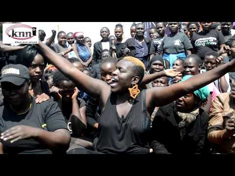 Kibra NASA Women Protest thumbnail