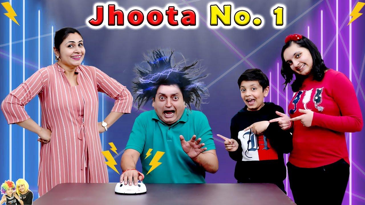 Download JHOOTA NO. 1   Lie Detector   Family Comedy Challenge   Aayu and Pihu Show