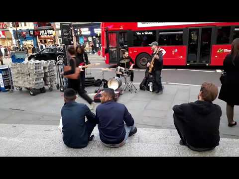Band at Liverpool Street