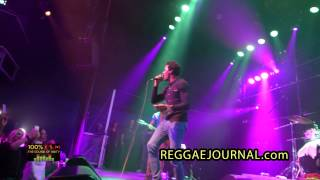 Romain Virgo - Stay With Me 2015-03-05. P60, Amstelveen, NL. Loyal Flames & Unit band. 100% ZEN