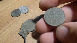 Чистка монет столовым уксусом.(Чистка монет столовым уксусом. Вот фото тем монет, из видео, через цифровой микроскоп. http://savepic.ru/5624395.jpg http://sa..., 2013-07-29T10:11:28.000Z)