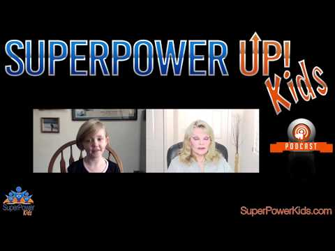 Super Power Kids with the Original Wonder Woman, Cathy Lee Crosby