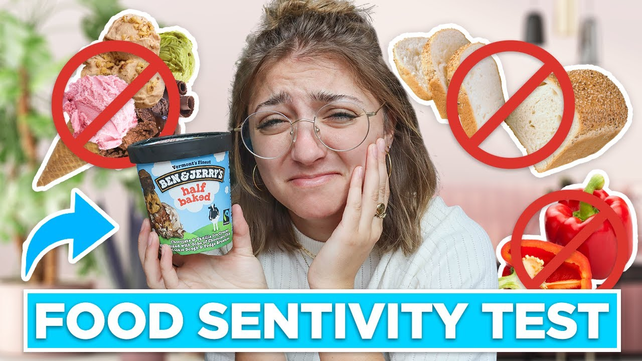 I Took a FOOD SENSITIVITY Test ... am I Allergic to Anything?