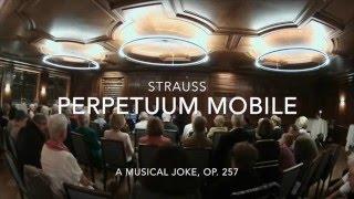 Strauss: Perpetuum Mobile für Klarinettenquartett