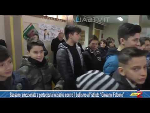 """Sassano, iniziativa contro il bullismo all'istituto """"G. Falcone"""" con la Banca del Cilento"""