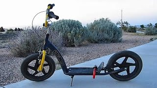 Repeat youtube video Adult Kick Scooter ~ My Torker