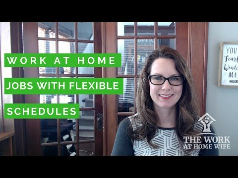 Work-from-Home Flexible Hours Jobs