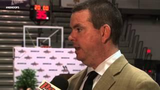 Binghamton Head Coach Tommy Dempsey at AE Media Day