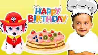 Готовим фруктовый торт с KuSaNiki : Развивающее видео для детей