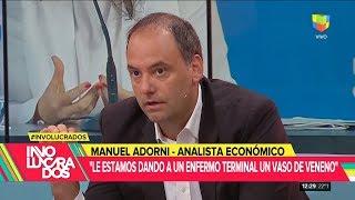 """Manuel Adorni en """"Involucrados"""" con Mariano Iúdica, por América - 17/04/19"""