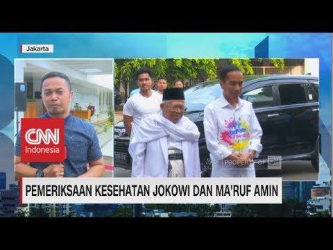 Pemeriksaan Kesehatan Jokowi & Ma'ruf Amin Berlangsung Sembilan Jam