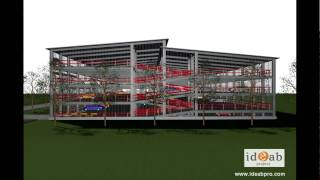 Parking Парковка  Ideab ID PH A500c.wmv(ID-PH A500-это современный паковочный дом вместимостью 500машин. Запроектирован компанией Ideab Project с применением..., 2010-05-17T16:47:09.000Z)