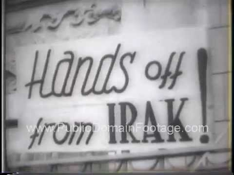 Middle East Crisis Lull in storm - Follow Troops Move 1958 Newsreel PublicDomainFootage.com