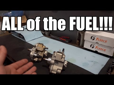 2400HP of FUEL FOR YOUR CUMMINS AND DURAMAX!!!! MASSIVE DUAL CP3 POWER!!!