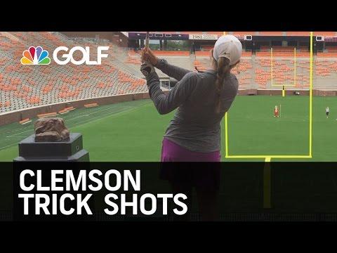 Clemson Trick Shots   Golf Channel