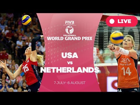 USA v Netherlands - Group 1: 2017 FIVB Volleyball World Grand Prix