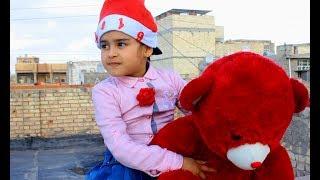 تحشيش #دانيه _تريد بابا نويل # وصعدت على جيران شوفو شصار   طه البغدادي