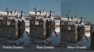 Dynamic Range Shootout - Nikon D750 vs Blackmagic Cinema