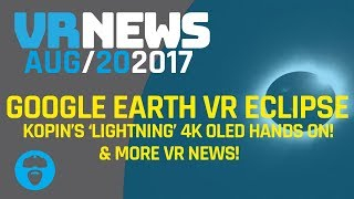 GOOGLE EARTH VR ECLIPSE FOR THOSE WHO AREN