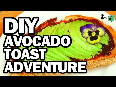 Avocado Toast Breakfast - Corinne Vs Cooking #8