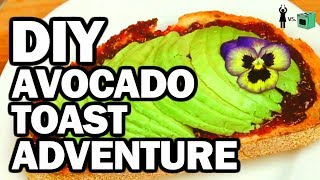 Download Avocado Toast Breakfast - Corinne Vs Cooking #8 Mp3 and Videos